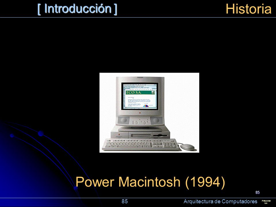 Historia Power Macintosh (1994) [ Introducción ]